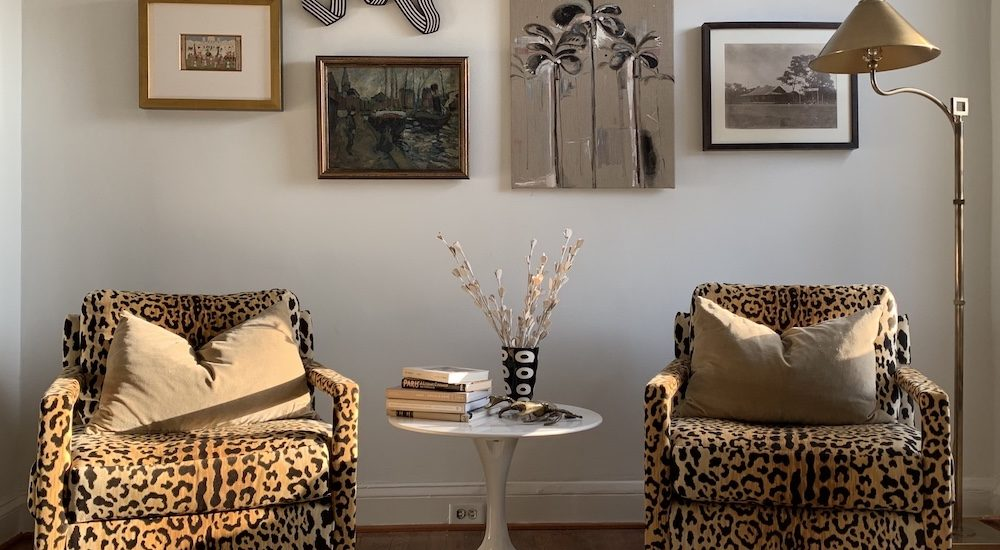 The Original Leopard Parsons Chairs. An (Updated) Epilogue